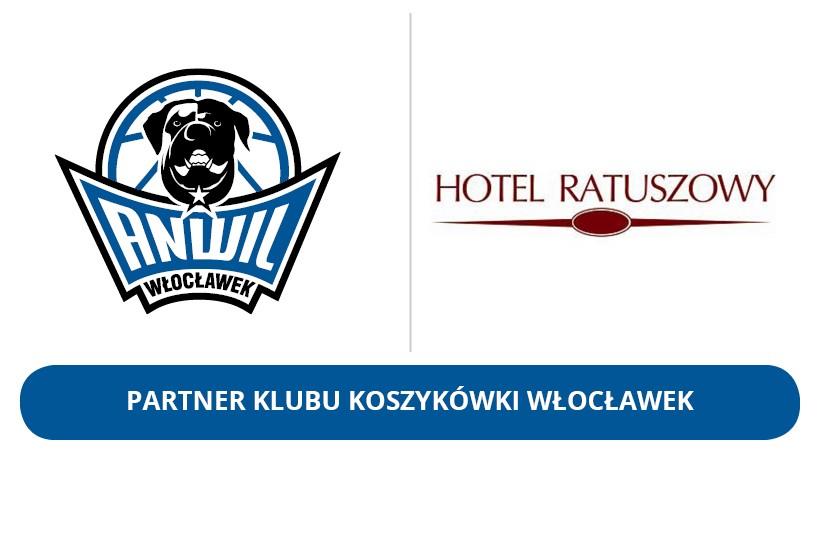 Hotel Ratuszowy partnerem KK Włocławek