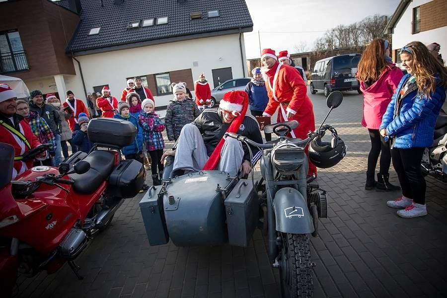 Moto-Mikołaje z Anwilem