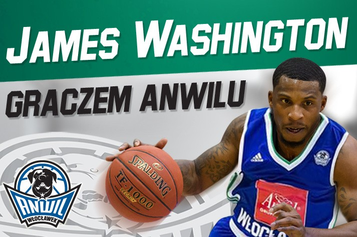James Washington na obwód Anwilu