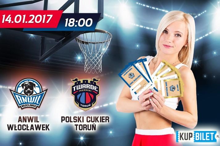 Bilety na mecz z Polskim Cukrem Toruń