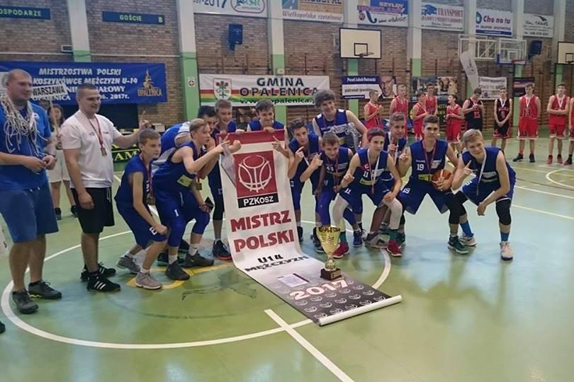 TKM Włocławek U-14 mistrzem Polski!