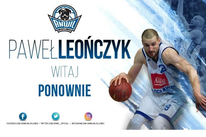 Paweł Leończyk zostaje w Anwilu