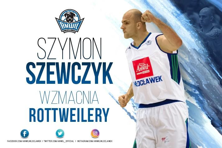 Szymon Szewczyk wzmacnia Anwil