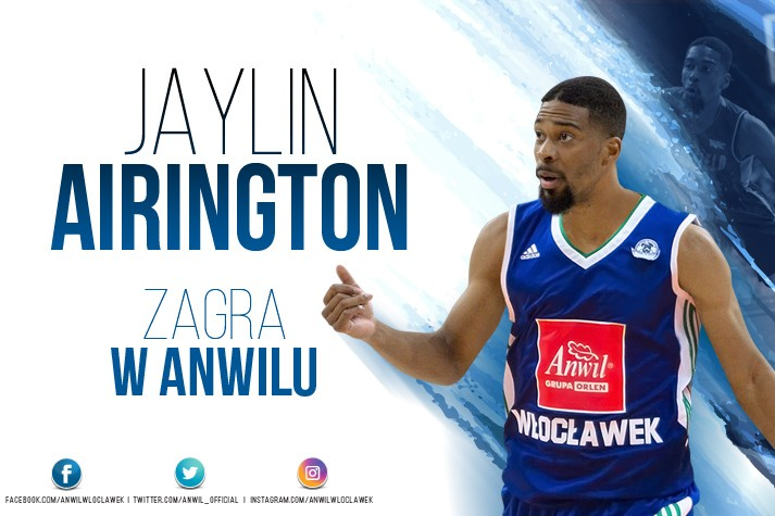 Kontrakt z try-outem - Jaylin Airington we Włocławku