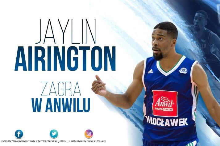 Kontrakt z try-outem - Jaylin Airington we Włocławku