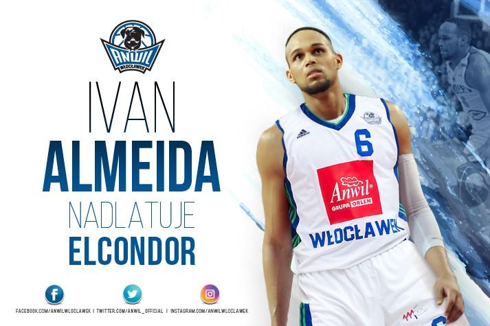 Nadlatuje El Condor - Ivan Almeida we Włocławku