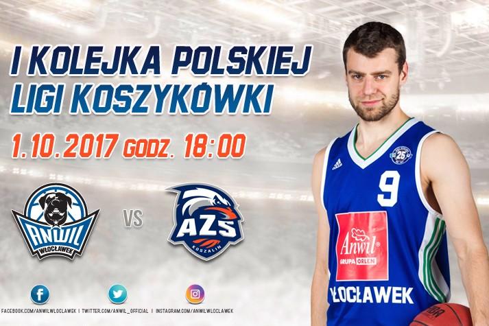 Bilety na AZS Koszalin