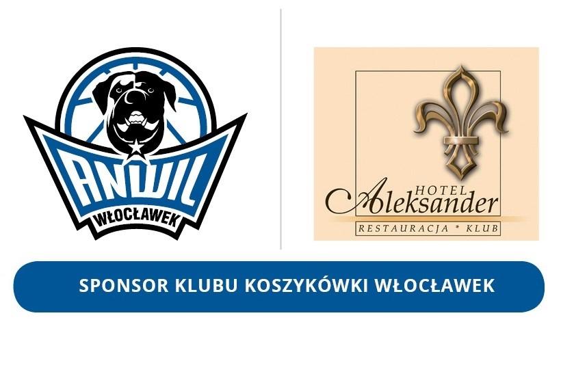 KK Włocławek i Hotel Aleksander cały czas razem