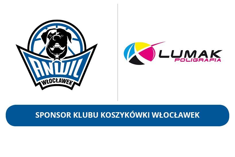 Lumak Poligrafia nadal Sponsorem KK Włocławek