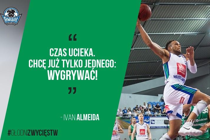 Ivan Almeida: Czas ucieka. Chcę tylko wygrywać!