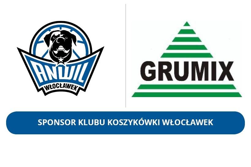 Zmiana roli - GRUMIX Sponsorem KK Włocławek