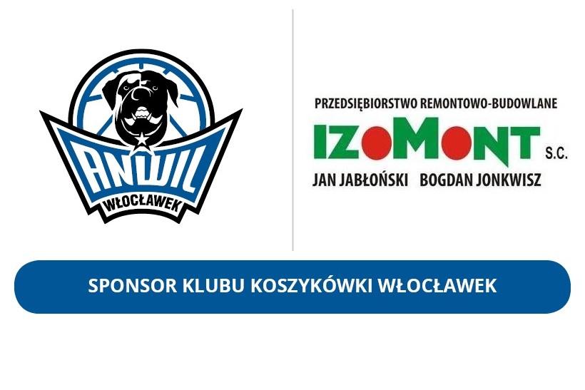 IZOMONT wciąż Sponsorem KK Włocławek