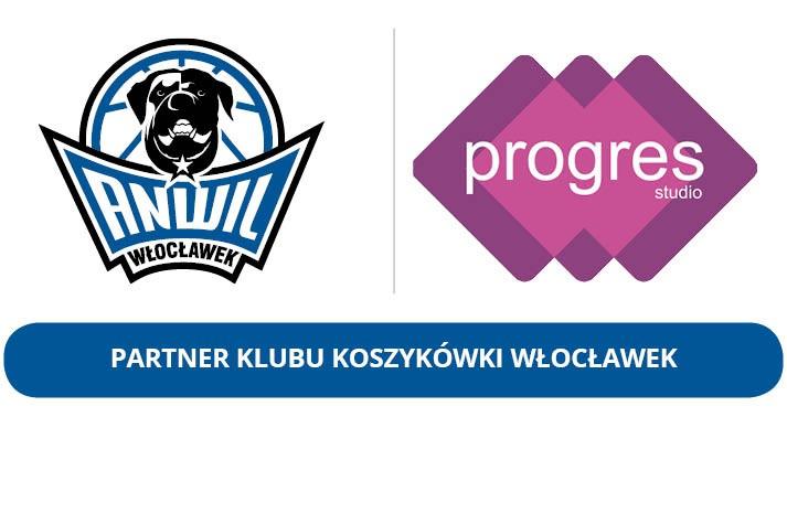 Progres nadal Partnerem KK Włocławek S.A.