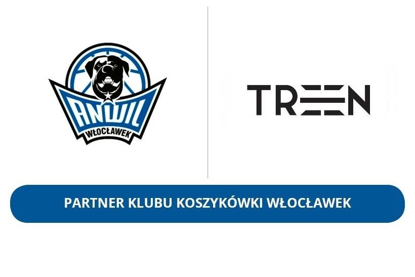 TREEN Partnerem Klubu Koszykówki Włocławek