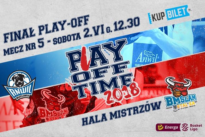 Sprzedaż biletów na mecz nr 5 finału play-off
