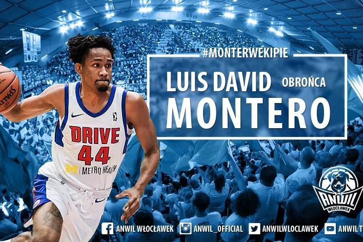 Luis David Montero - wzmocnienie z Karaibów