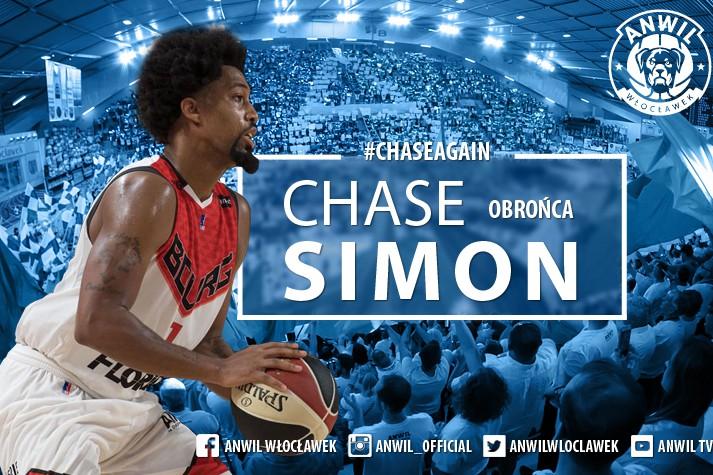 Chase Simon ponownie we Włocławku