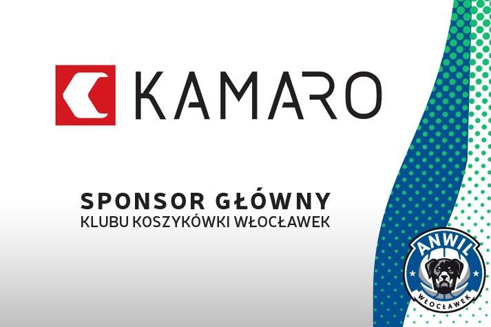 KAMARO ponownie Sponsorem Głównym