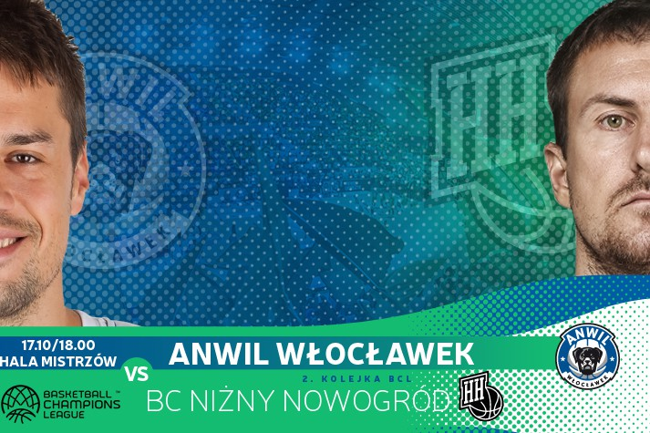Liga Mistrzów we Włocławku - na początek Niżny Nowogród