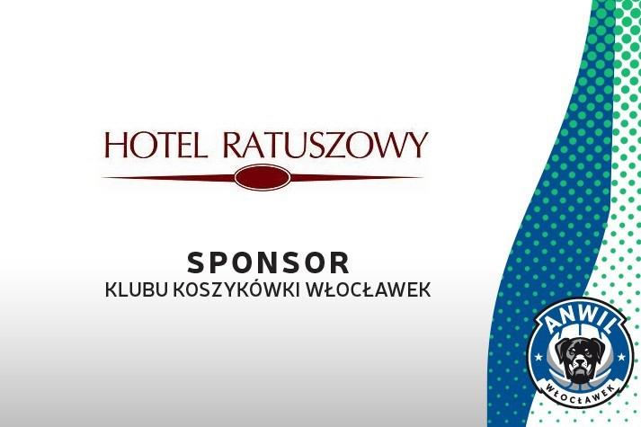 Hotel Ratuszowy dalej z KK Włocławek