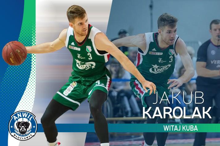 Ze stolicy do stolicy koszykówki – Jakub Karolak w Anwilu