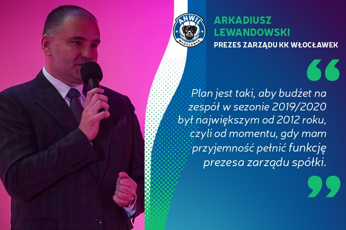 Arkadiusz Lewandowski: Planujemy najwyższy budżet od lat