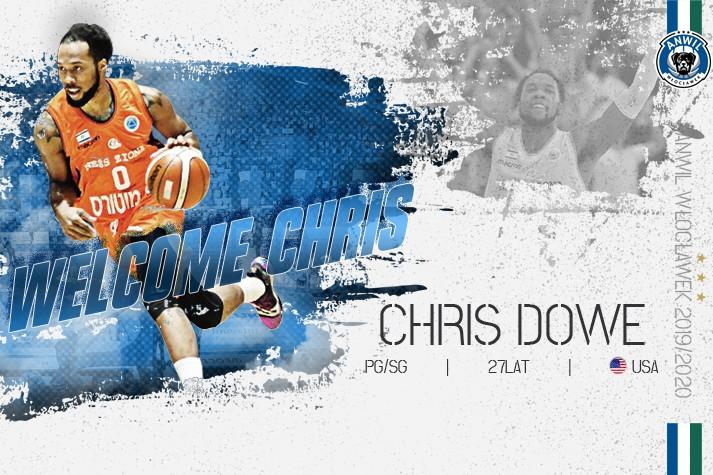 Jedynka z Kentucky – Chris Dowe w Anwilu
