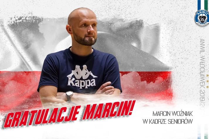 Marcin Woźniak asystentem w kadrze seniorów!