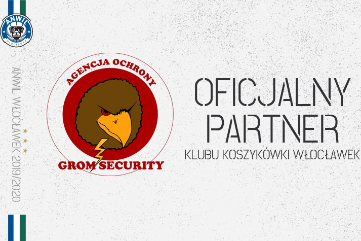 Grom Security partnerem Klubu Koszykówki