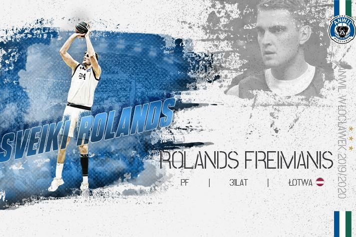 Łotewskie strzelanie – Rolands Freimanis graczem Anwilu