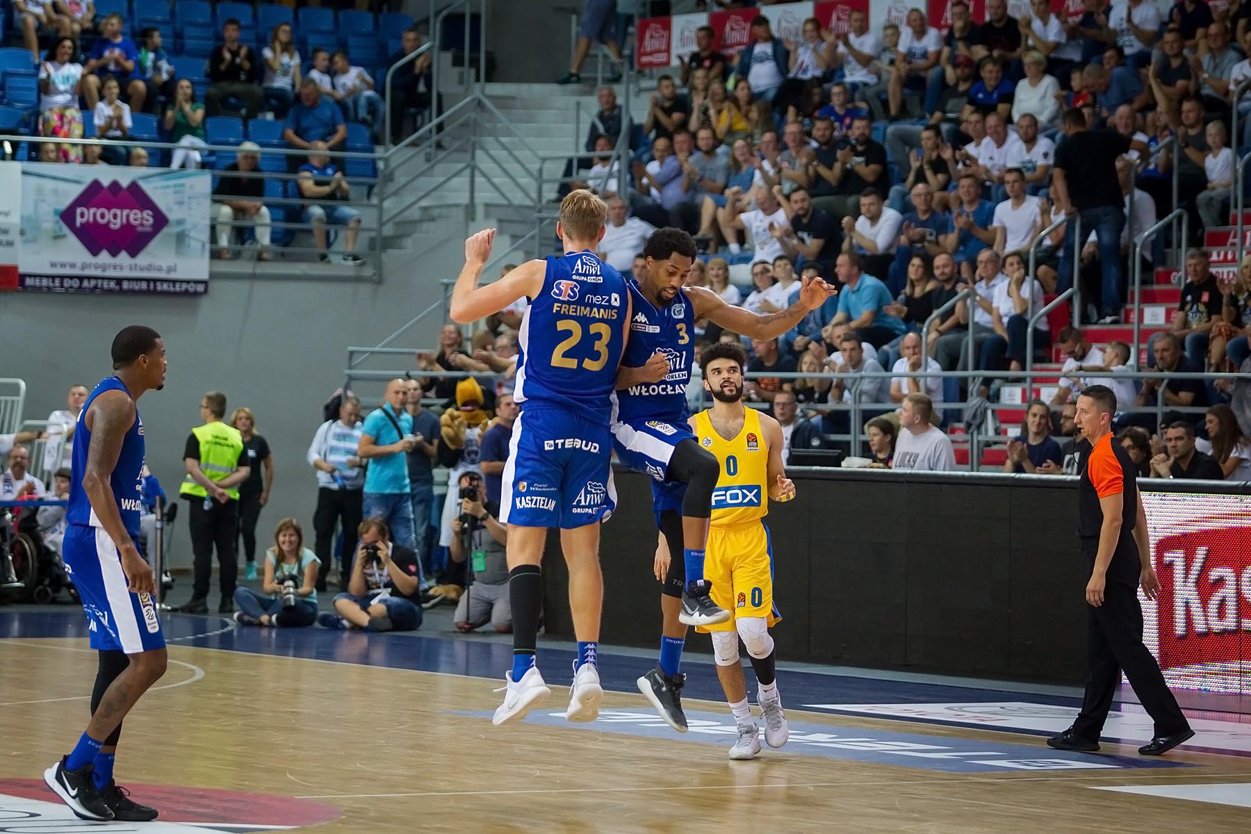 Wielkie Maccabi poskromione przez Anwil!