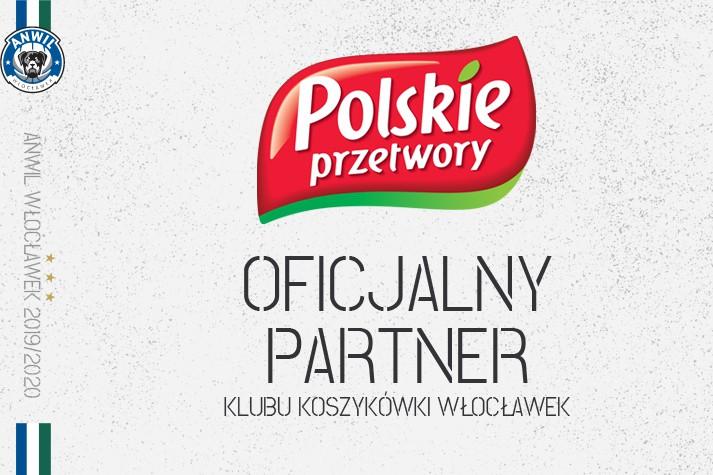 Polskie Przetwory w gronie partnerów KK Włocławek