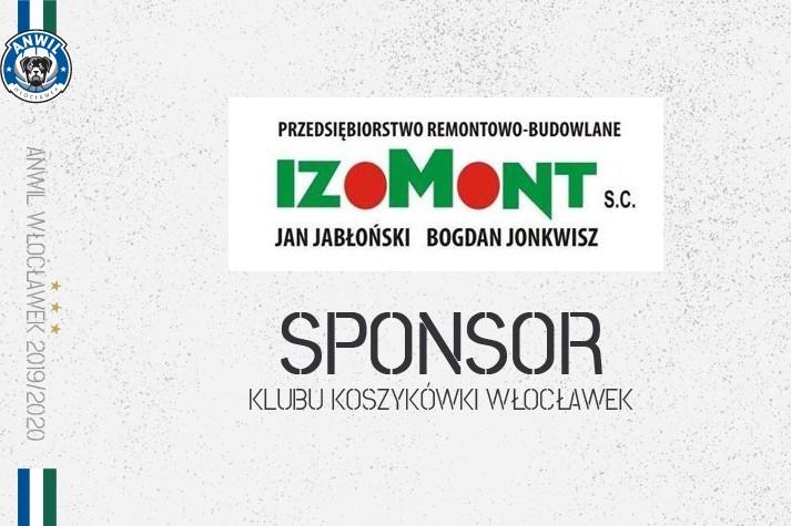IZOMONT zostaje wśród sponsorów KK Włocławek