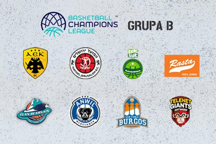 BCL: San Pablo Burgos i Telenet Giants Antwerpia w naszej grupie