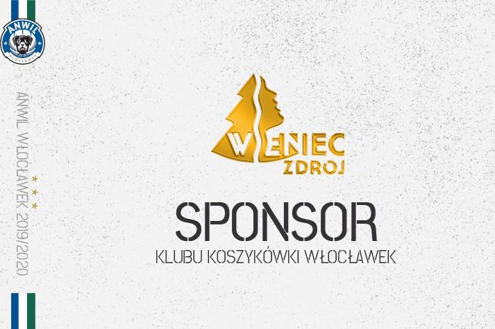 Uzdrowisko Wieniec ponownie sponsorem KK Włocławek