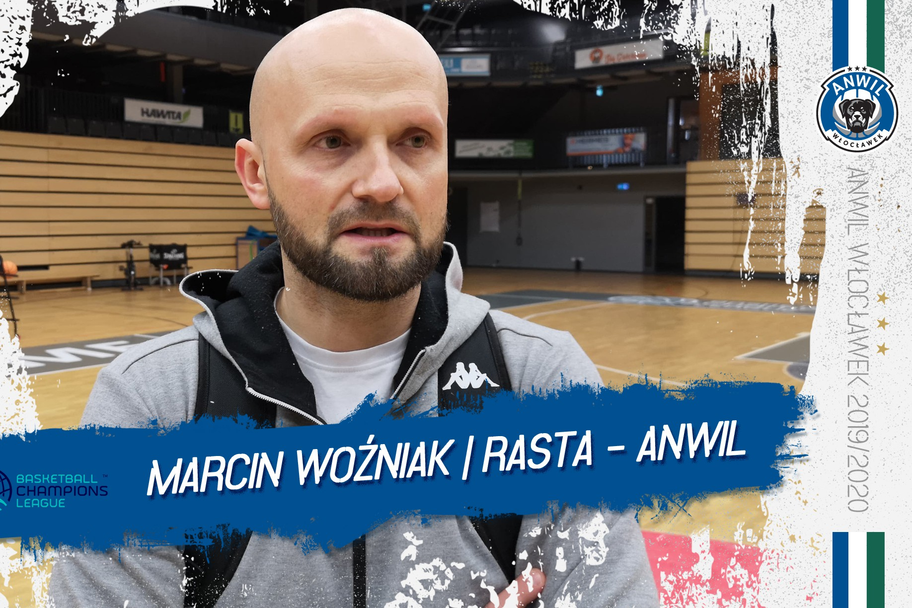 Marcin Woźniak | Przed Anwil Włocławek - RASTA Vechta
