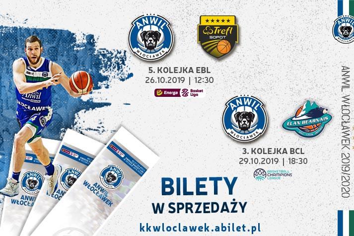 Bilety do kupienia: Trefl Sopot, Pau Orthez