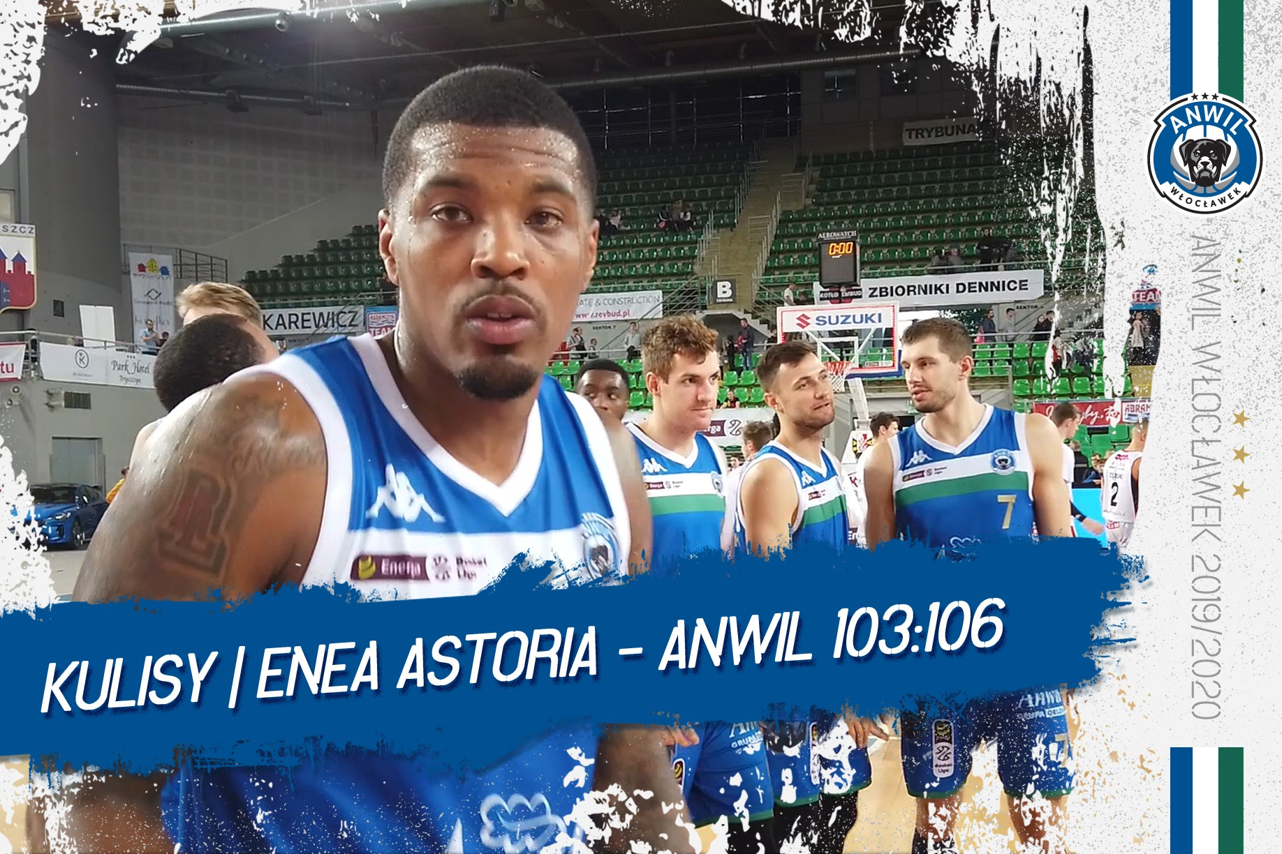 Kulisy | Enea Astoria Bydgoszcz - Anwil Włocławek 103:106