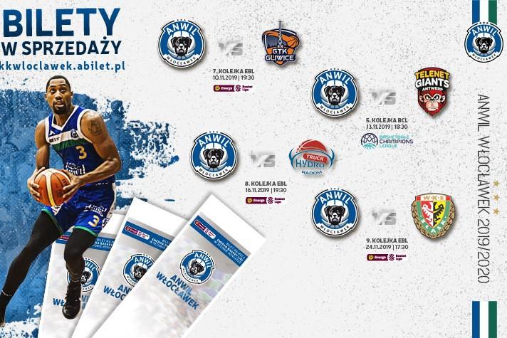 Bilety do kupienia: GTK, Telenet Giants, HydroTruck oraz Śląsk