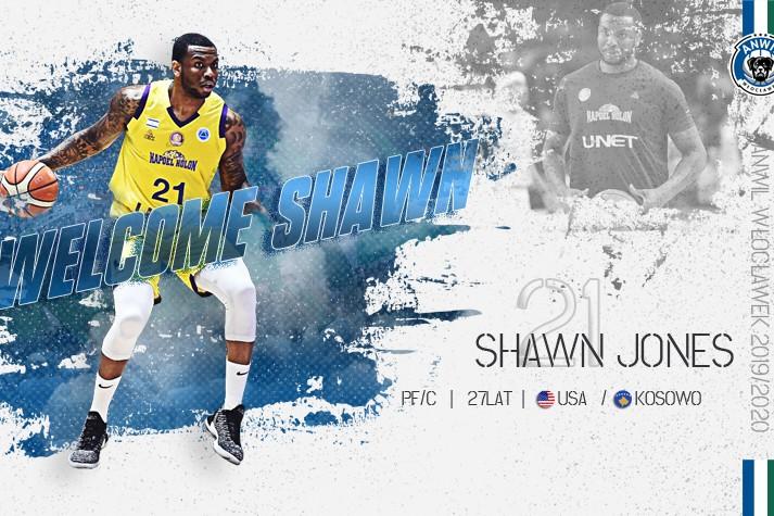 Leworęczny podkoszowy - Shawn Jones graczem Anwilu