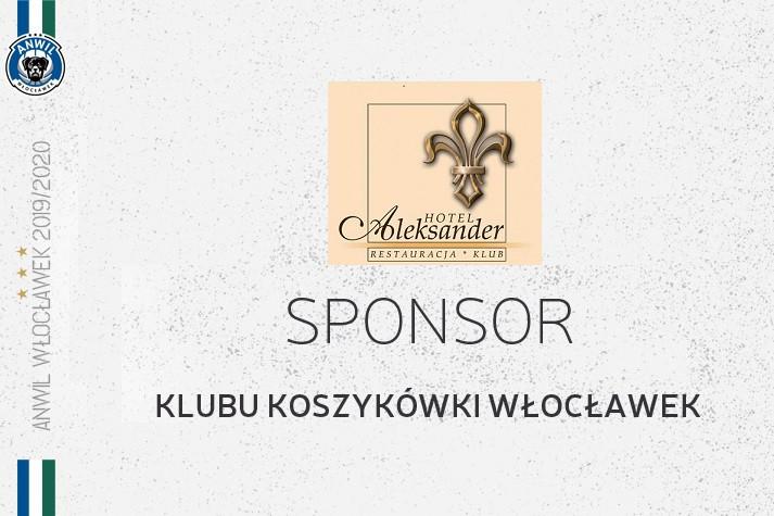 Hotel Aleksander nadal sponsorem