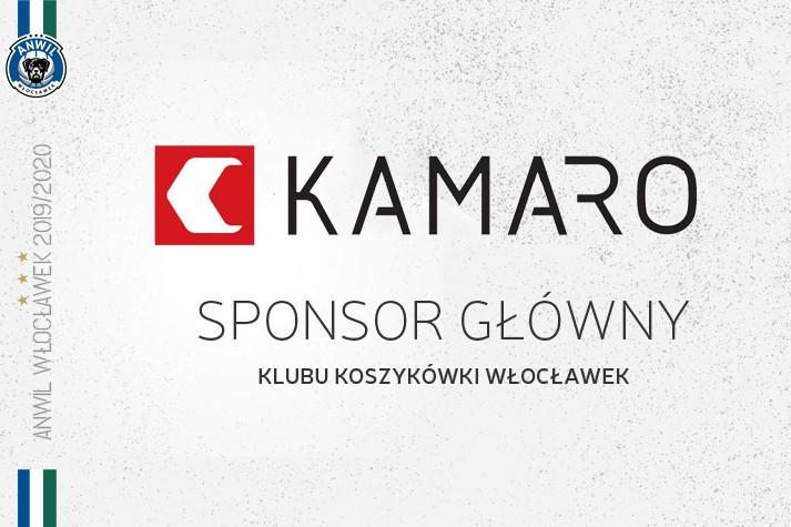 Wśród sponsorów głównych - nadal KAMARO