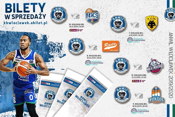 Bilety do kupienia: MKS, AEK, RASTA, King i San Pablo