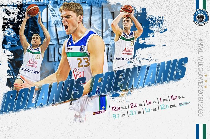 Kibice wybrali: Rolands Freimanis MVP Listopada