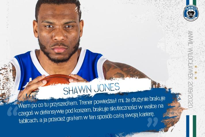 Shawn Jones: Wiem, po co tu przyszedłem