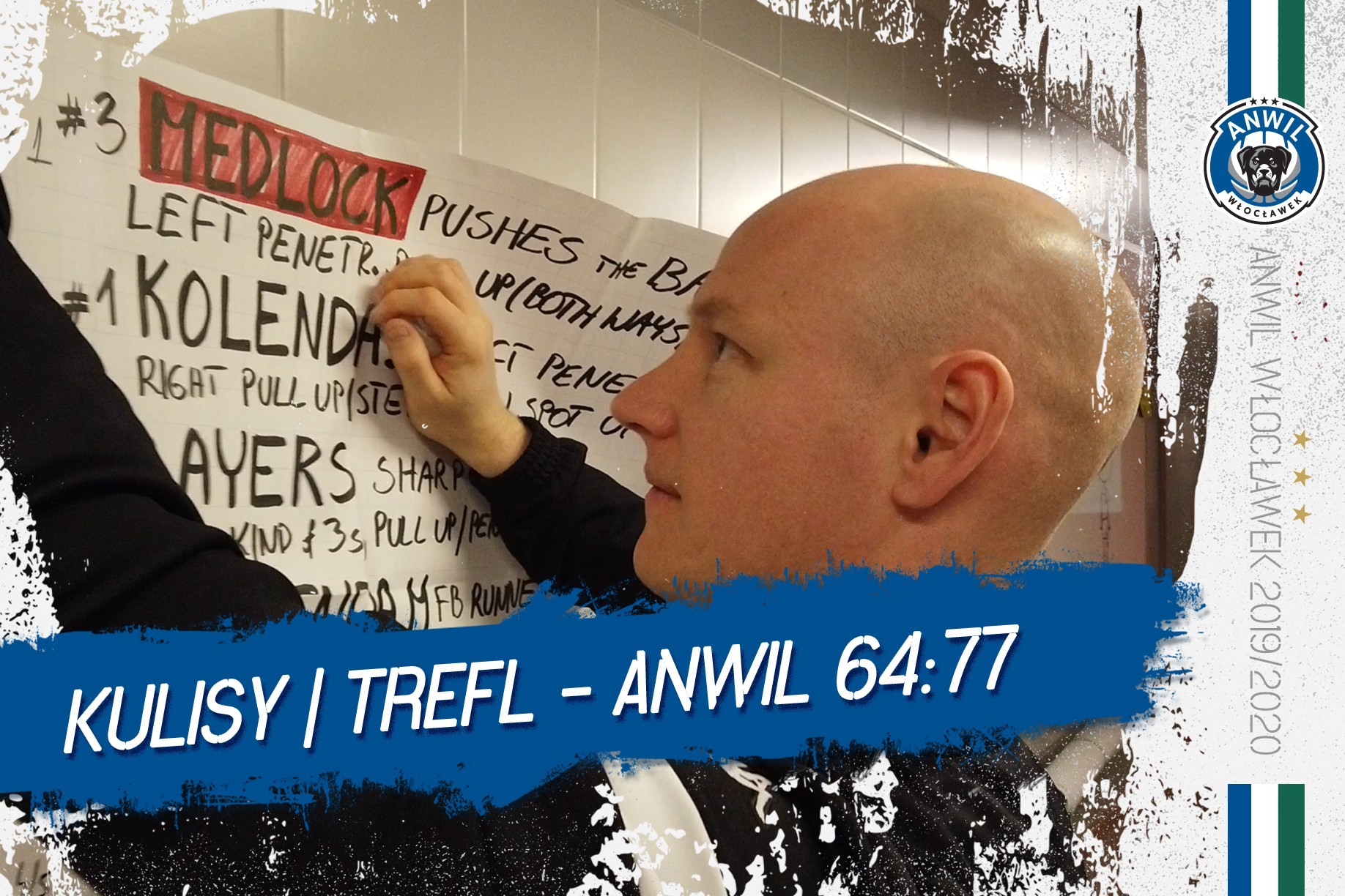 Kulisy | Trefl Sopot - Anwil Włocławek 64:77