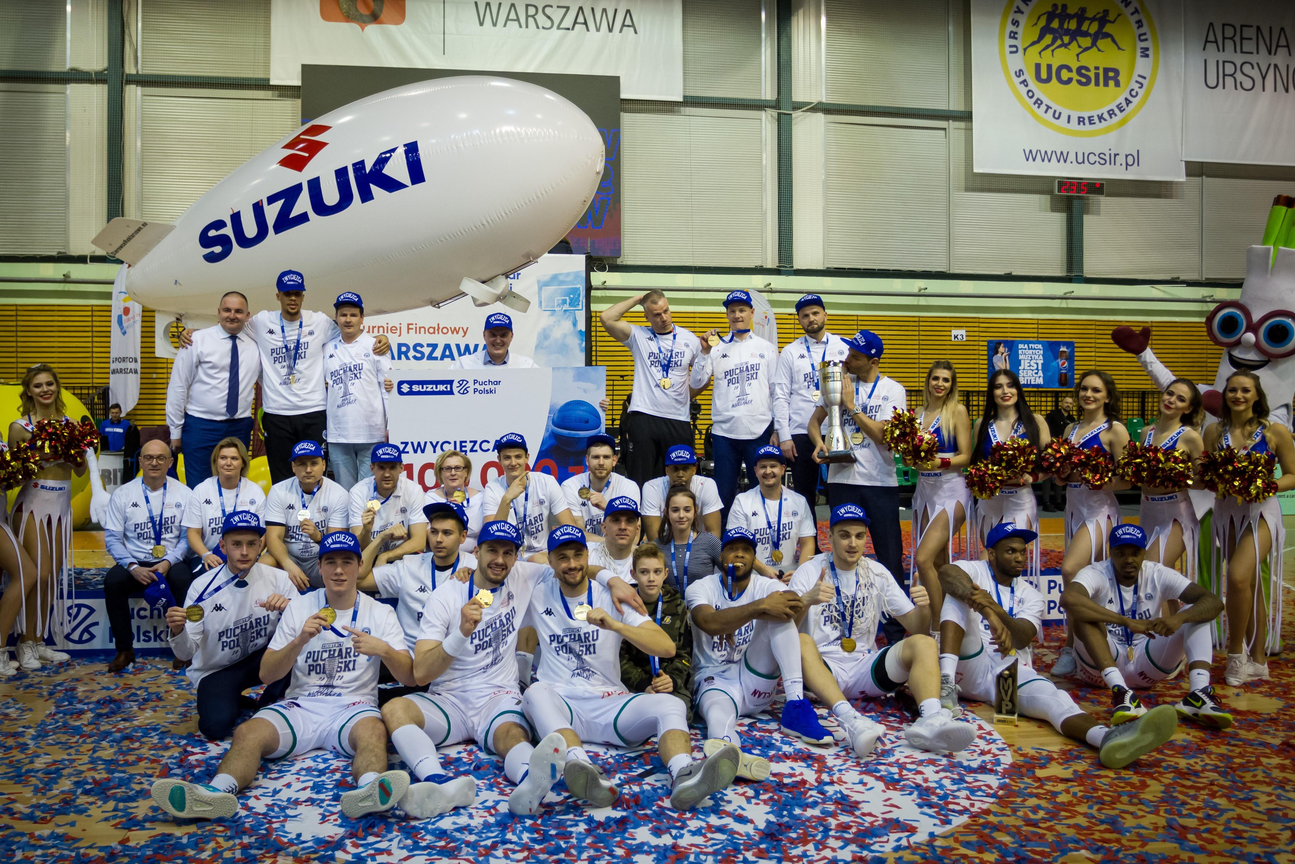 Niepokonani – derby i Suzuki Puchar Polski dla Anwilu!