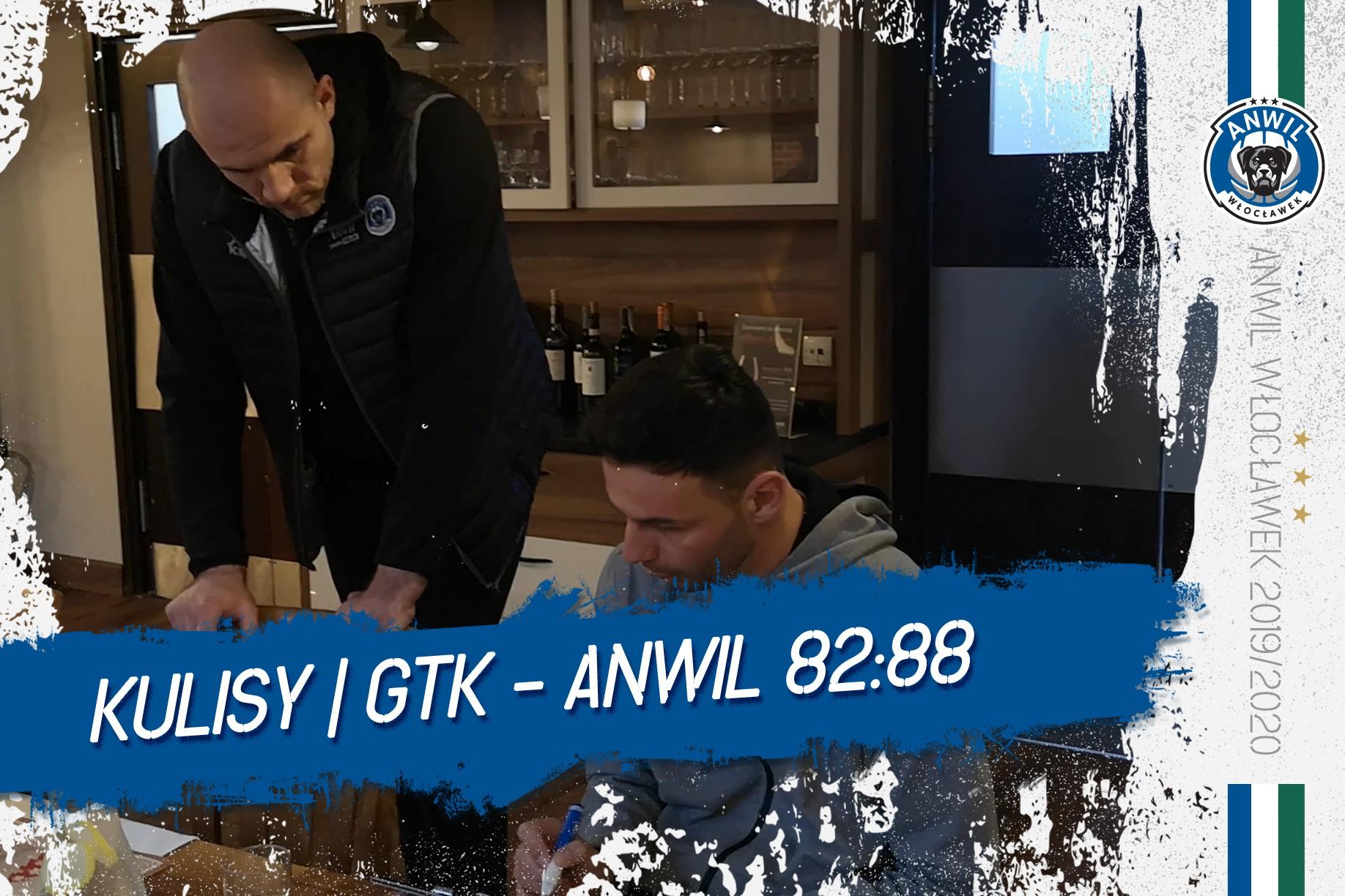 Wideo | Kulisy | GTK Gliwice - Anwil Włocławek 82:88