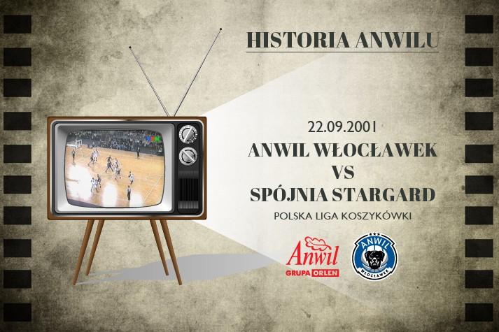 Historia Anwilu #01 | Otwarcie Hali Mistrzów oraz Anwil Włocławek - Spójnia Stargard