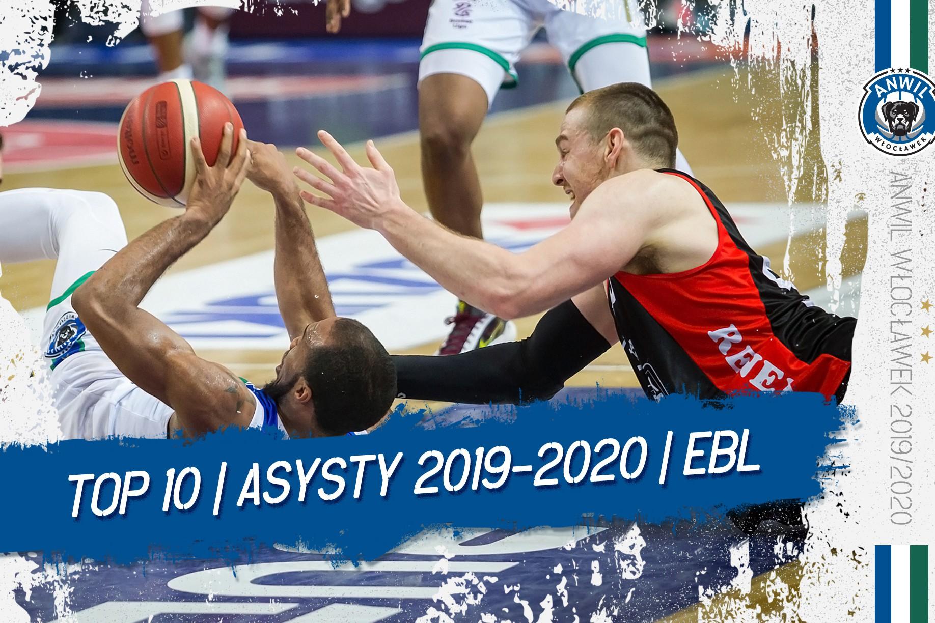 Wideo | TOP 10 asyst Anwilu Włocławek w EBL 2019/2020